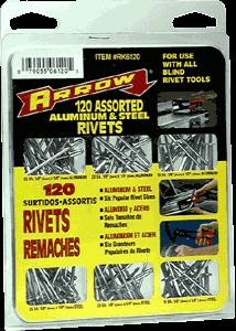 120PC Rivet Asst For Use w/All Blind Rivet Tools (4 Sets)