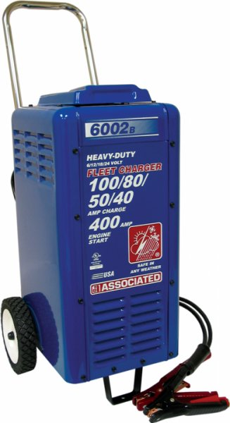 6/12/18/24 Volt 100/75/50/40 Amp USA Commercial Fast Battery Charger