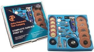 Complete Surface Prep Kit w/Composite Handle 90 Angle Grinder