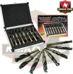 "8PC Silver & Deming Drill Bit Set (9/16""-1"")"