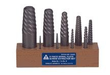 9PC Spiral Flute Screw Extractor (USA)