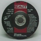 "Sait 4"" x 1/4"" x 5/8"" Grinding Disc (25 Wheels)"