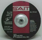 "Sait 9"" x 1/4"" Grinding Disc w/Hub (10 Wheels)"