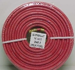 "Goodyear 1/4"" x 25' Twin Lead Red/Green Welding Hose (USA)"