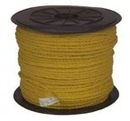 "1/4"" X 1200' Yellow Poly Rope"