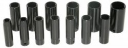 "15PC 1/2"" Deep Impact Sockets Large Sizes  (3/8"" to 1-1/4"")"