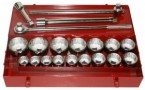 "21PC. 1"" Drive Socket Set (1-5/8"" to 3-1/8"")"