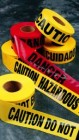 "3""x1000' Tape - No Legend Caution Tape (12 Rolls)"