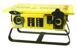 Yellow X-Treme Box Power Distribution Center (Straight Blade)