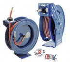 "3/8"" Spring Driven Low Pressure P-Series Hose Reel w/50' Hose"
