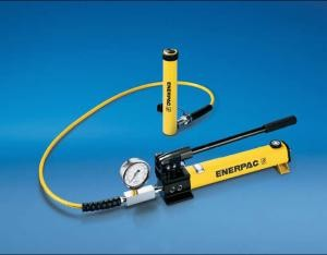 Enerpac 25-Ton Single-Acting Cylinder/Pump Set (2