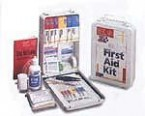 First Aid Only Vehicle First Aid Kit Metal Case (12 Kits)