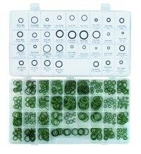 FJC 350PC Deluxe High Temperature Green HNBR O-Ring Assortment Kit