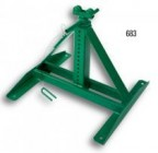 "683 Screw Type Reel Stand (Height: 22"" to 54""; 2,500-lb Cap.)"