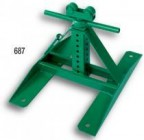 "687 Screw Type Reel Stand (Height: 13"" to 28""; 2,500-lb Cap.)"