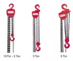 1/2-Ton Heavy Duty H-100 Series Manual Chain Hoist (10' Lift)