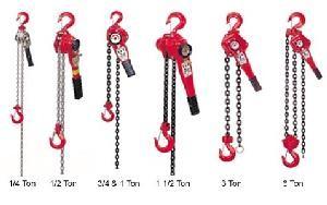 Hit 1 4 Ton Heavy Duty H 100 Series Chain Lever Hoist Come