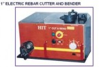 "Electric Rebar Cutter & Bender (Capacity 1"")"