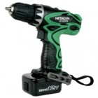 "Hitachi 12V Cordless 3/8"" Driver Drill Kit w/ Flashlight"