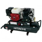 Hitachi 5.5 HP Gas Engine Powered Air Compressor