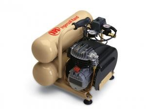 IR Twin Stack Single-Stage Portable Air Compressor