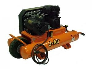 J-Air 16-Gallon 1.5-HP Portable Electric Air Compressor