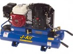 J-Air 9-Gallon 6.5-HP Portable Gas Air Compressor (Honda Engine)