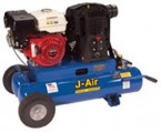 J-Air 16-Gallon 6-HP Portable Gas Air Compressor (Robin Engine)