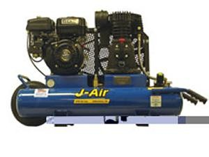 J-Air 9-Gallon 6-HP Portable Gas Air Compressor (Robin Engine)
