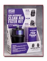 Motor Guard Compressed Clean Air Filter Kit Sub-Micronic
