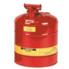 Justrite 2.5-Gallon Type I Red Gas / Safety Can (Flammables)