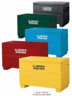 "Yellow Flammable Storage Safety Chest 15Gal. (48""x24""x31.125"")"