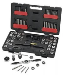75PC SAE / Metric Tap & Die Drive Tool Set