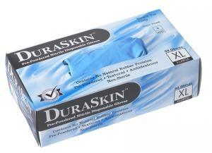 8-Mil XLG DuraSkin Nitrile Disposable Gloves (50 Gloves)