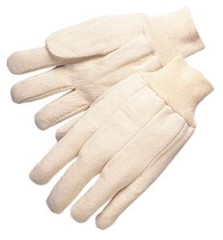 10oz Heavy Duty Cotton Canvas Gloves  (12 Pairs)
