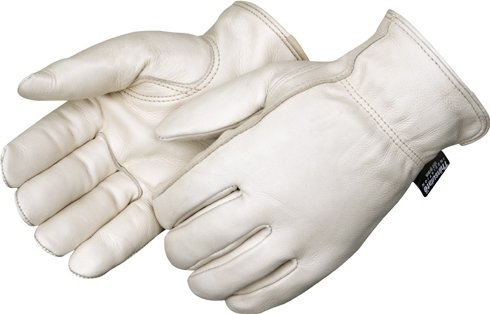 Premium Grain Thinsulate Cowhide Drivers Gloves - LG