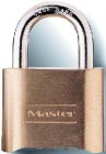 "Master 2"" Resettable Combination Brass Padlock (4 Padlocks)"