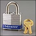"1-9/16"" Steel Body Safety Padlock - 1-1/2"" Shackle (6 Padlocks)"