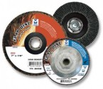 "7"" x 5/8""-11 High Density Zirconia Flap Disc 120G (10 Discs)"