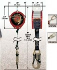Personal Fall Limiter w/Carabiner & Swivel Shackle - Red