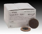 "3M 2"" Coarse Scotch-Brite Roloc Surface Prep Disc (25 Discs)"