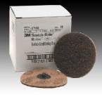 "3M 4"" Coarse Scotch-Brite Roloc Surface Prep Disc (10 Discs)"