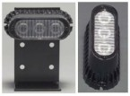 Surface Mount LED Warning Light (Hardwire, Amber)