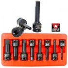 "8PC 1/2"" Dr. Metric Hex Bit Impact Socket Set (6mm to 19mm)"