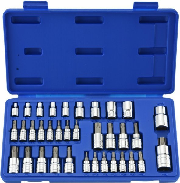 35PC Torx Bit Socket & External Torx Socket Set