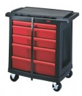 Rubbermaid 5-Drawer Mobile Work Center
