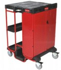 Rubbermaid Ladder Cart w/ One Cabinet