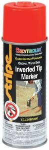 Seymour 16oz Red/Orange Fluorescent Inverted Spray Paint (12 Cans)