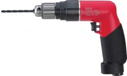 "Sioux 1/4"" Pistol Grip Air Drill 1-HP (2600 RPM)"