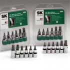 "SK 6PC 3/8Dr Fractional Ball Hex Bit Socket Set (5/32"" To 3/8"")"